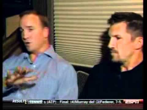 Peyton Manning/Dallas Clark interviewed On The Road to Camp- Chris Mortensen