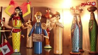 روعة وجمال المشغولات اليدوية في معرض الفسطاط (اتفرج)