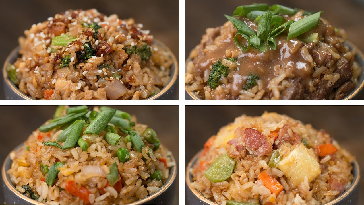 Your kids will love these 4 fried rice ideas youtube your kids will love these 4 fried rice ideas tasty ccuart Choice Image