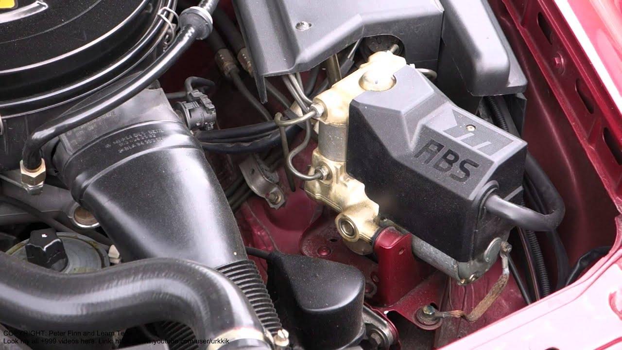 How Works Car Abs Braking System Basic Idea Youtube