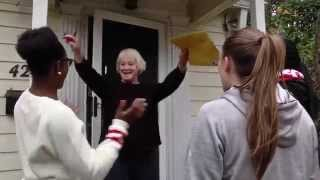 Special Delivery: Women's Basketball Surprises Season Ticket Holders