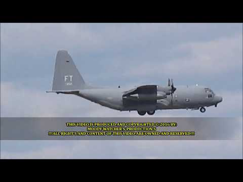 • (HD) The 81st Fighter Squadron – 2 Ship Formation Flying Over My House © 2016.wmv