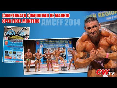 Campeonato Comunidad de Madrid AMCFF 2014 (Culturismoweb TV)