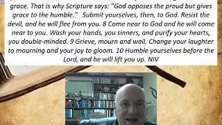 Lesson 20  James 4:5-10  December 14, 2020