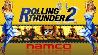 Rolling Thunder 2 | Arcade | Longplay | HD 720p 60FPS