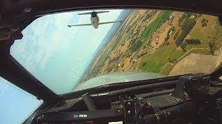 Vampire, L39 & Strikemaster jet aerobatics - headcam