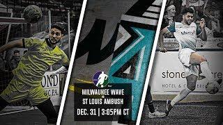 Milwaukee Wave vs St Louis Ambush