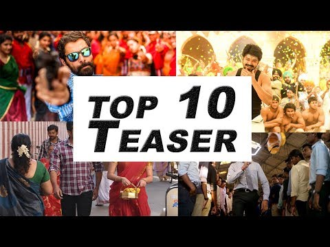 Top 10 Teaser's Of 2017 |  Mersal |...