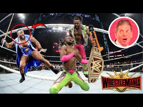 LEAKED Backstage RUMORS And SWERVES Vince Plans For WrestleMania 35 REVEALED! Big E TURNS Heel!