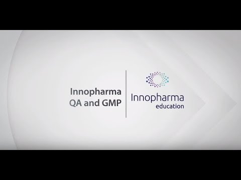 Innopharma Education eLearning Module – Quality Assurance and GMP