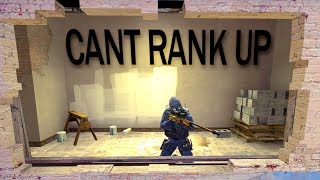 CAN'T RANK UP - ANY TIPS ? CSGO CHALLENGE - PISTOL ONLY