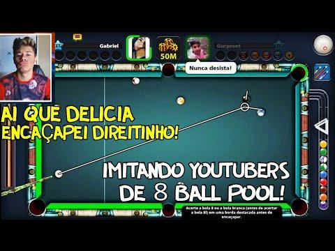 IMITANDO YOUTUBERS DE 8 BALL POOL!