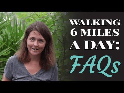 Walking 6 Miles A Day: FAQ