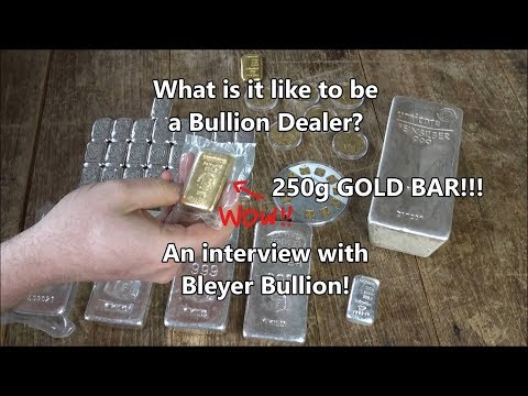 What's it like to be a bullion dealer? A conversation with Bleyer Bullion!!