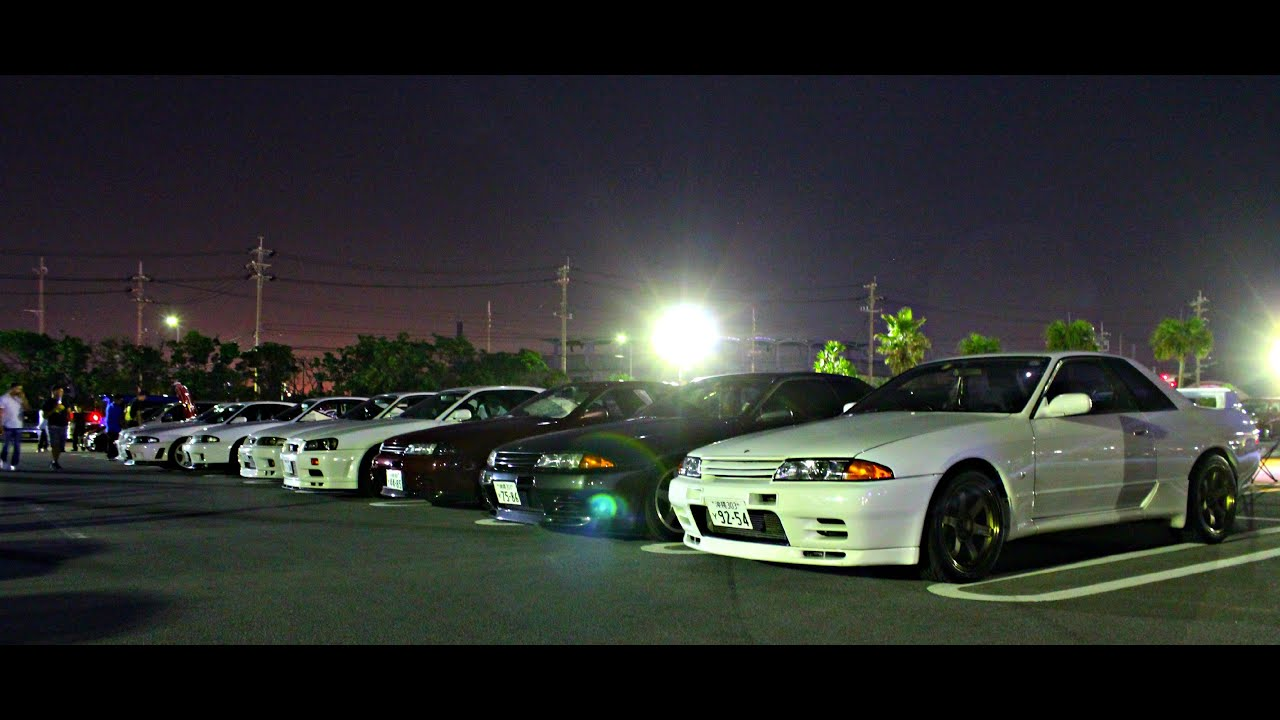 Okinawa Japan Car Meet - YouTube