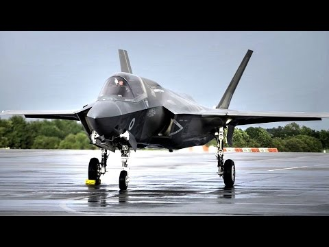 F-35B Lands For The First Time In United Kingdom