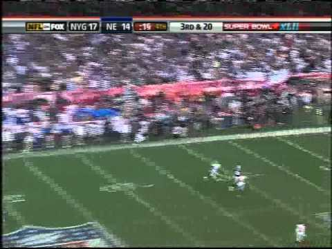 Randy Moss SB 42 almost catch