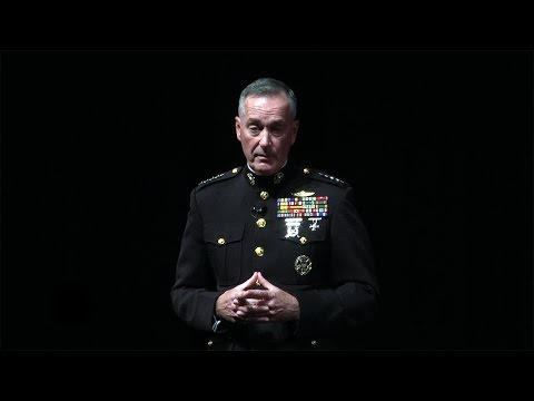 Remarks by the Chairman of the Joint Chiefs of Staff