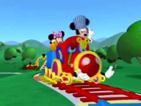 Mickey mouse clubhouse choo choo boogie official music for Mouse house music