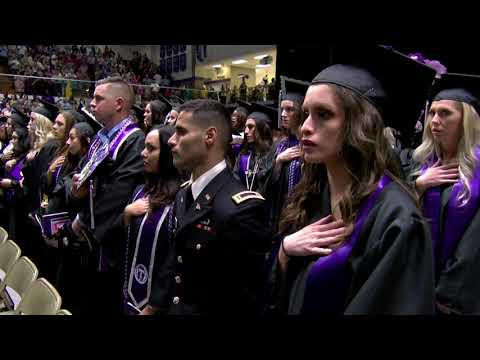 Tarleton Commencement, Spring 2018, College of Health Sciences and Human Services