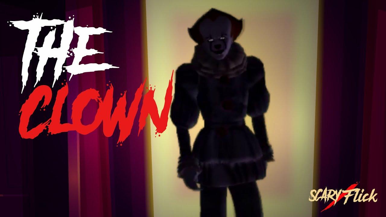 The Clown I True Scary Animated Horror Story In Hindi I Scary Flick E79