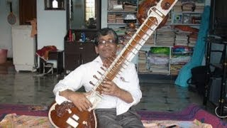 Sitar introduction and basics by famous sitar guru