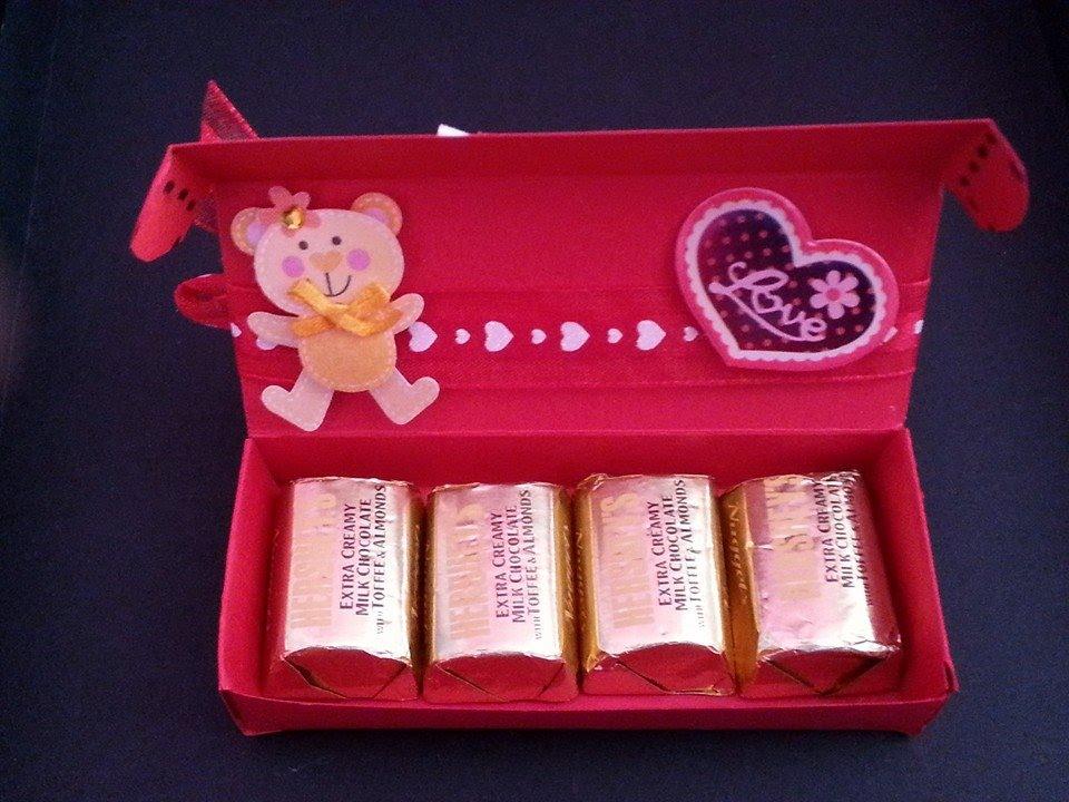 Regalo para san valentin caja con chocolates youtube - Regalos de san valentin para el ...