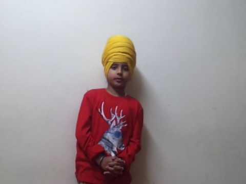 Young Gurpreet Singh read do bariya Kimti jinda