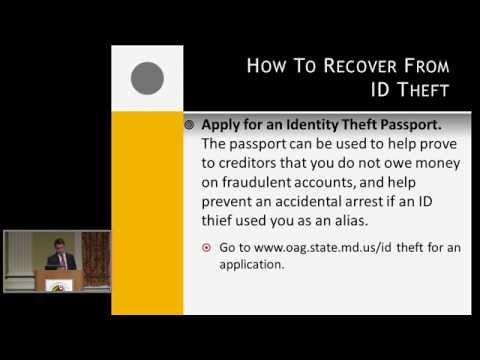 Identity Theft Seminar