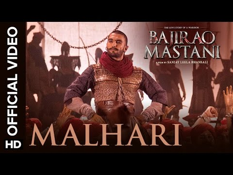 Malhari Official Video Song  Bajirao Mastani  Ranveer Singh