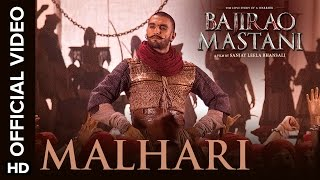 Malhari Official Video Song | Bajirao Mastani | Ranveer Singh(In this high-octane traditional song, we see Ranveer Singh perfectly capture the victorious spirit of Bajirao. The song is sung by Vishal Dadlani to a tune by ..., 2015-11-30T06:30:00.000Z)