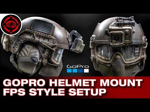 How To Set Up Helmet Mount Gopro Vast