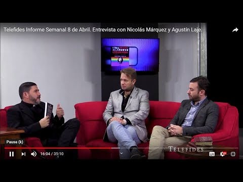 """Márquez y Laje: """"El género es una rebelión contra la naturaleza"""""""