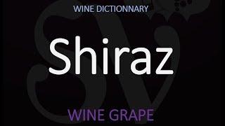 How to Say Shiraz? Australian Wine Pronunciation YouTube Videos
