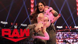 Lana vs. Nia Jax – Tables Match: Raw, Feb. 8, 2021