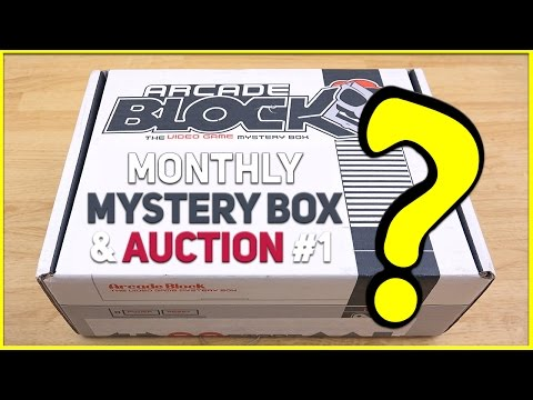 Mystery Box Opening/Auction # 1