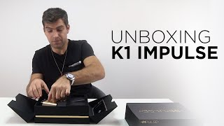 """Tutorial """"How to use IMPulse K1"""" Part 1 - IMPulse K1 UNBOXING 