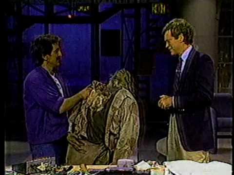 Tom Savini & David Letterman 1986