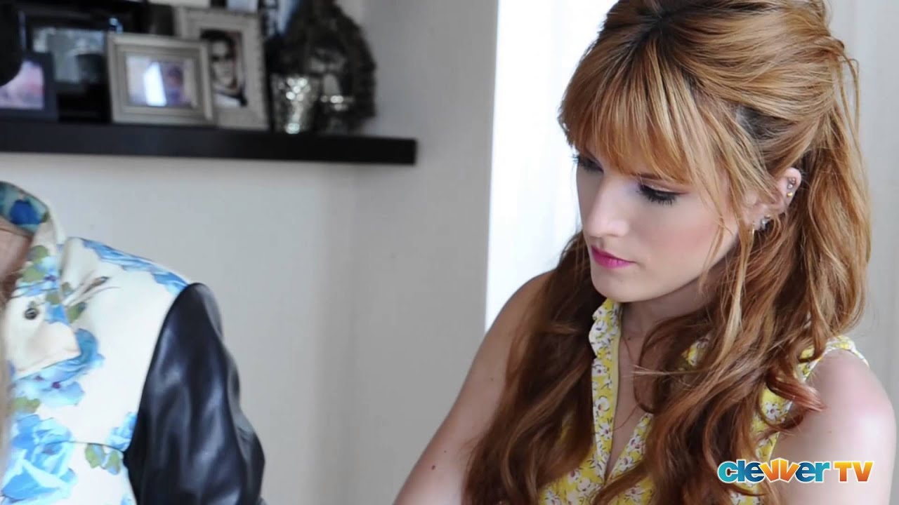 bella thorne prom makeup tutorial with tonya brewer - youtube