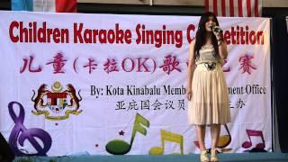 Crystal Ong王雪晶 Sabah KK 歌唱比赛评审嘉宾表演