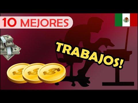 Top 10 Trabajos Bien Pagados En Mexico