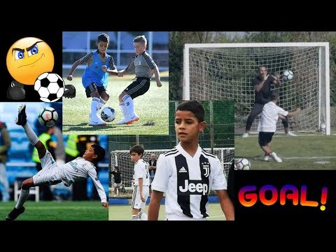 All Cristiano Ronaldo Junior Goals since he was 5 years old [Video]
