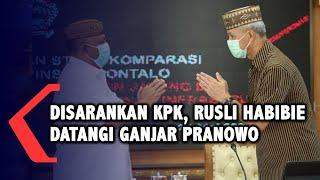 Temui Ganjar Pranowo, Gubernur Gorontalo Mengaku Dapat Saran dari Anggota KPK