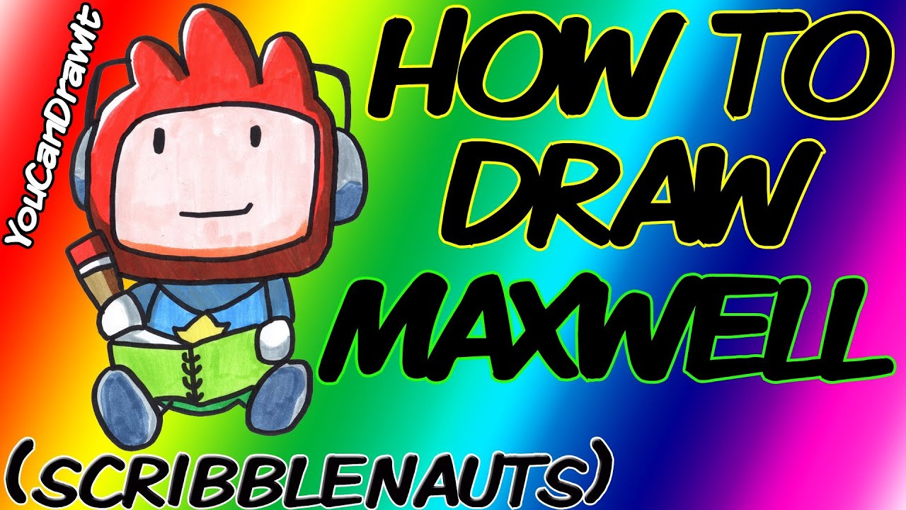Maxwell Scribblenauts Drawing : How to draw maxwell from scribblenauts youcandrawit ツ