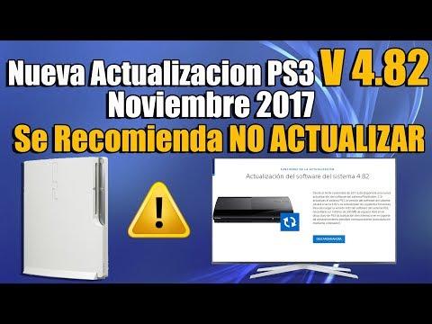 Actualizacion 4.82 Playstation 3 - ACONSEJABLE NO ACTUALIZAR -