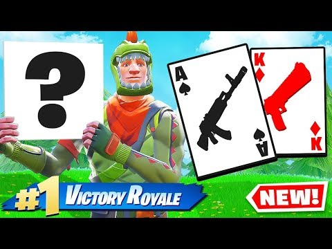 21 BLACKJACK *NEW* CARD GAME Mode In Fortnite Battle Royale
