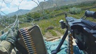 Machine Gun Fire Support For a U.S. Army Patrol Under Fire
