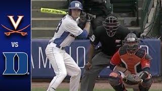 Virginia vs. Duke ACC Championship Highlights (2017)