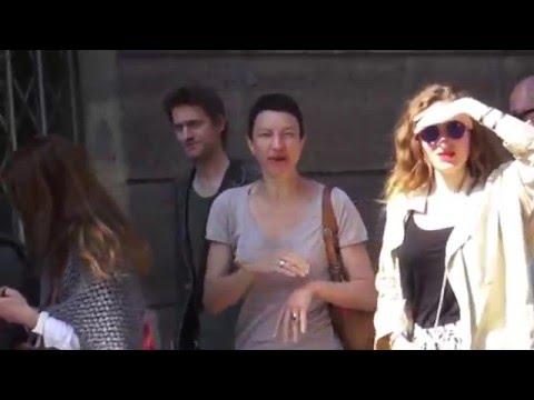 Cortège traditionnel de Jeanne D'Arc. Paris/France. 8 mai 2016