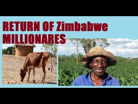 HYPERINFLATION IS MAKIN A COMEBACK SOON IN Zimbabwe